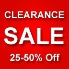 Clearance Specials - Up to 25% Off