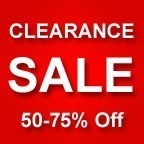 Clearance Specials - 50-75% Off