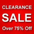 Clearance Specials - Over 75% Off