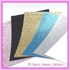 Glitter Card Stock - A4 Sheets