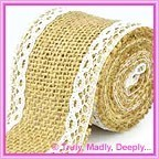 50mm Hessian Ribbons
