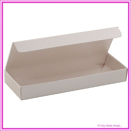 Bomboniere Box - 3 Chocolates - Crystal Perle Sandstone (Metallic)