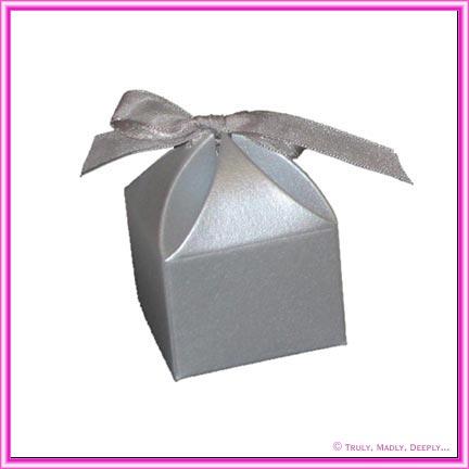 Bomboniere Box - Bom 1 Silver