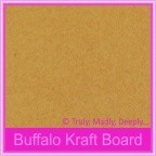 Buffalo Kraft 283gsm Matte Card Stock - A4 Sheets