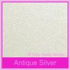 Wedding Cake Box - Crystal Perle Antique Silver (Metallic)