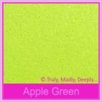 Wedding Cake Box - Crystal Perle Apple Green (Metallic)