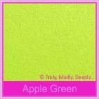 Bomboniere Heart Chair Box - Crystal Perle Apple Green (Metallic)