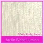 Crystal Perle Arctic White Lumina 300gsm Metallic Card Stock - A3 Sheets