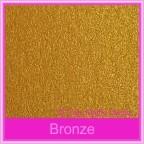 Bomboniere Box - 10cm Cube - Crystal Perle Bronze (Metallic)