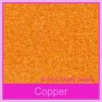 Bomboniere Box - 5cm Cube - Crystal Perle Copper (Metallic)