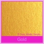 Crystal Perle Gold 125gsm Metallic - 160x160mm Square Envelopes