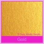 Crystal Perle Gold 125gsm Metallic - 5x7 Inch Envelopes