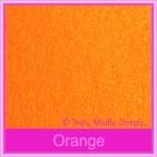 Bomboniere Box - 10cm Cube - Crystal Perle Orange (Metallic)