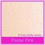 Crystal Perle Pastel Pink 125gsm Metallic - 5x7 Inch Envelopes