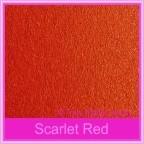 Crystal Perle Scarlet Red 125gsm Metallic - DL Envelopes