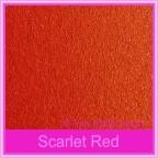 Bomboniere Box - 5cm Cube - Crystal Perle Scarlet Red (Metallic)