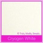 Curious Metallics Cryogen White 120gsm - C6 Envelopes