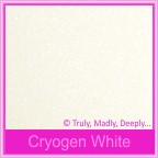 Cake Box - Curious Metallics Cryogen White