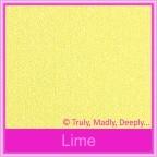 Bomboniere Box - 5cm Cube - Curious Metallics Lime