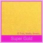 Curious Metallics Super Gold 120gsm - 160x160mm Square Envelopes