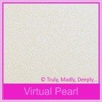 Curious Metallics Virtual Pearl 120gsm - 130x130mm Square Envelopes