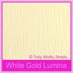 Bomboniere Box - 3 Chocolates - Curious Metallics White Gold Lumina
