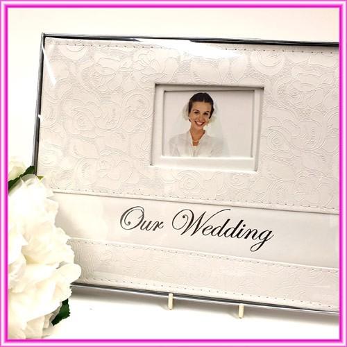 Wedding Guest Book - Wedding Floral Print