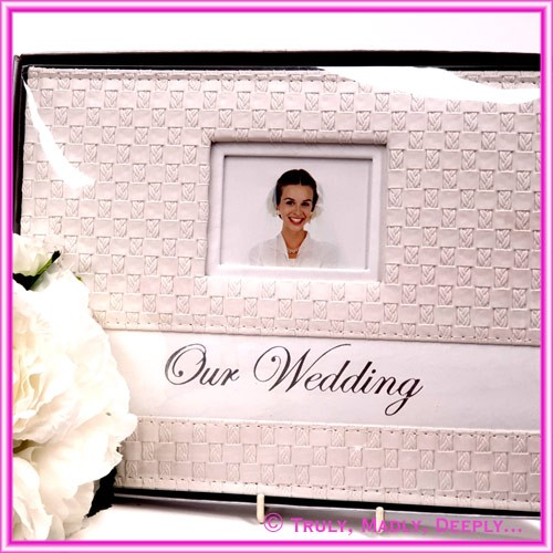 Wedding Guest Book - Weave