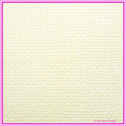 A4 Embossed Invitation Paper - Jute Ivory Pearl