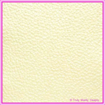 A4 Embossed Invitation Paper - Modena Ivory Pearl
