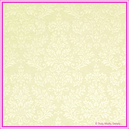 A4 Embossed Invitation Paper - Grace Ivory Pearl