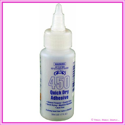 Glue Helmar 450 Quick Dry Craft 50ml Bottle