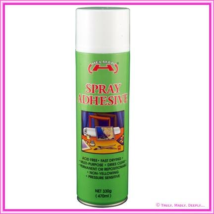 Helmar Spray Adhesive 330g