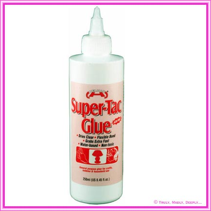 Glue Helmar Super-Tac EVA 250ml Bottle
