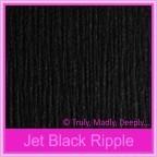Keaykolour Original Jet Black Ripple 250gsm Matte Card Stock - A3 Sheets