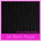 Keaykolour Original Jet Black Ripple 250gsm Matte Card Stock - A4 Sheets