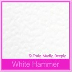 Wedding Cake Box - Knight White Hammer (Matte)