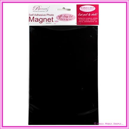 Self Adhesive Fridge Magnet - 15.25x23cm Sheet