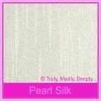Pearl Textures Collection - Embossed Silk 115gsm Metallic - 160x160mm Square Envelopes