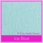 Starlust Ice Blue 250gsm Textured Metallic Card Stock - A4 Sheets