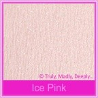 Bomboniere Box - 3 Chocolates - Starlust Ice Pink Textured (Metallic)