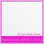 Semi Gloss White Lumina 315gsm Card Stock - A4 Sheets