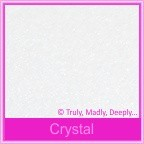 Stardream Crystal 120gsm Metallic - 160x160mm Square Envelopes