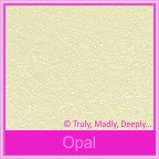 Bomboniere Box - 10cm Cube - Stardream Opal (Metallic)