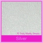 Stardream Silver 120gsm Metallic - 160x160mm Square Envelopes