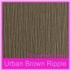 Urban Brown Ripple 330gsm Matte Card Stock - A3 Sheets