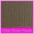 Urban Brown Ripple 330gsm Matte Card Stock - A4 Sheets