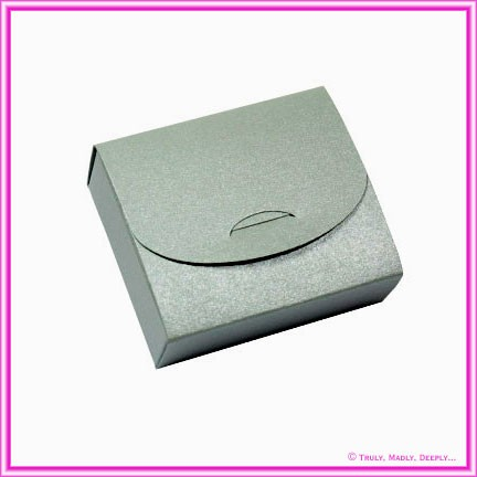 Bomboniere Purse Box - Curious Metallics Galvanised