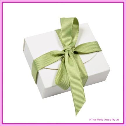 Bomboniere Purse Box - Semi Gloss White