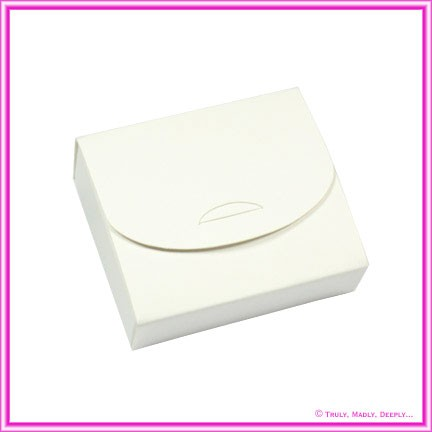 Bomboniere Purse Box - Splendorgel Smooth White (Matte)